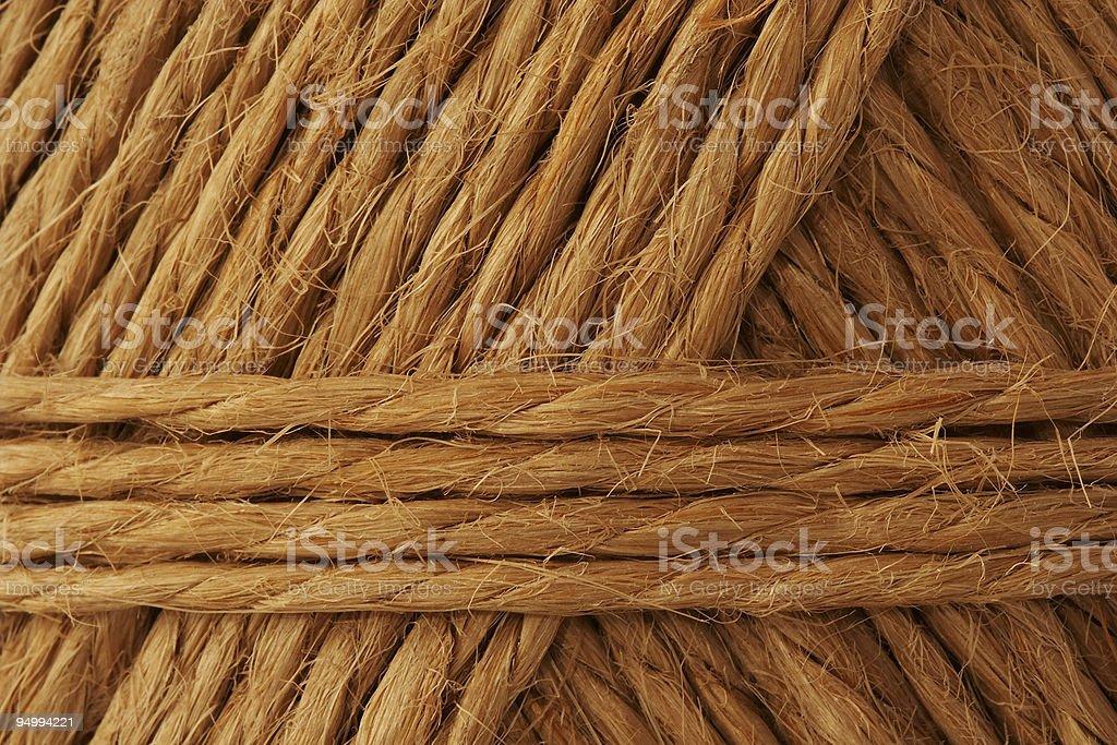 hemp rope stock photo