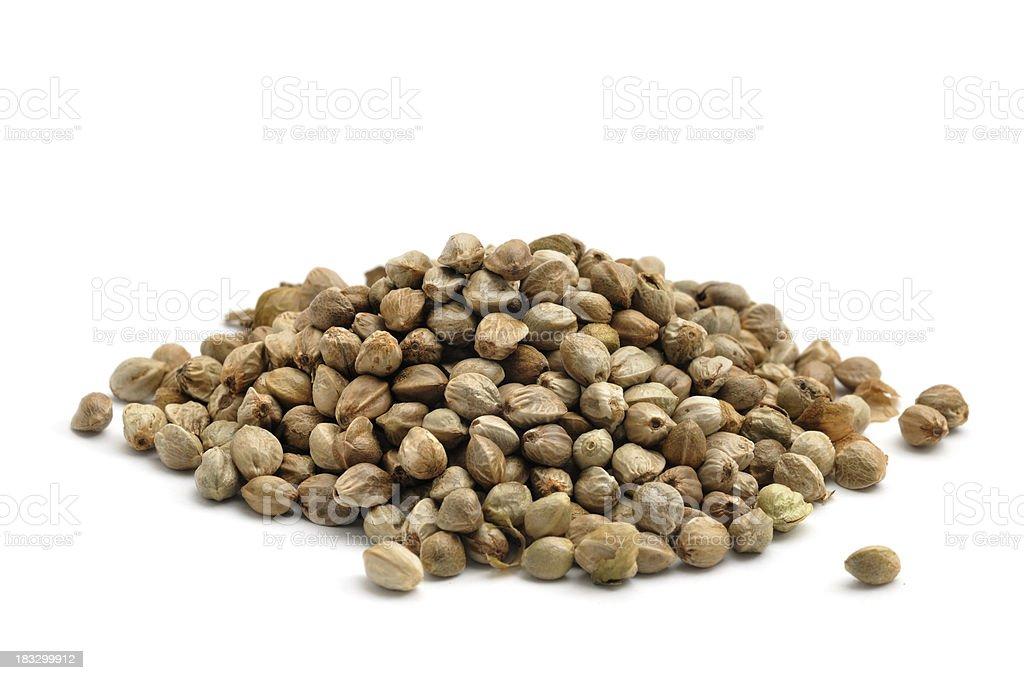 Hemp Seeds stock photo