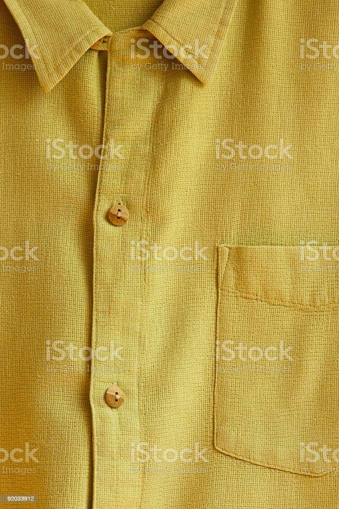 Hemp Shirt royalty-free stock photo