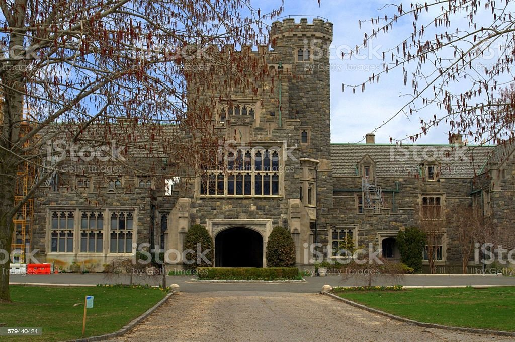 Hempstead House, Long Island NY stock photo