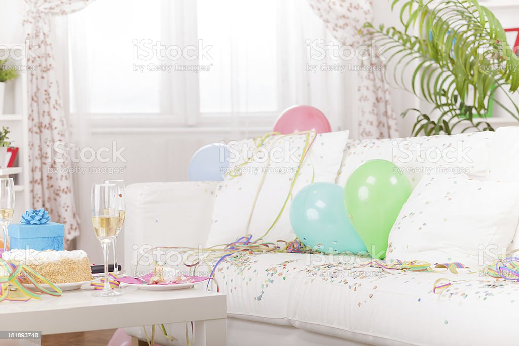 hen night left over royalty-free stock photo