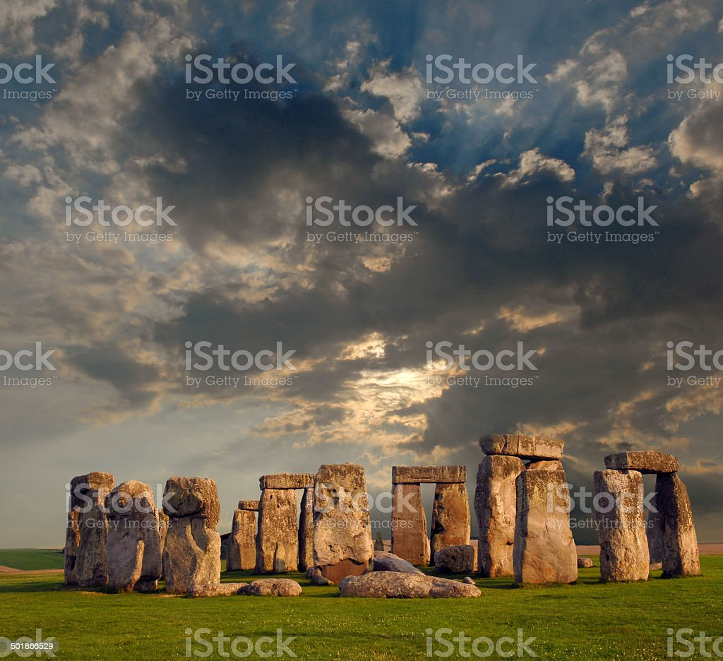 Henge stock photo