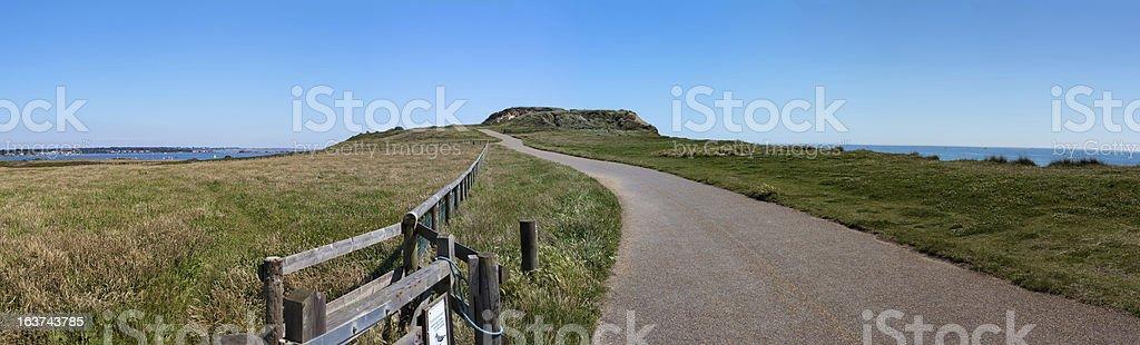 Hengistbury Head Path stock photo