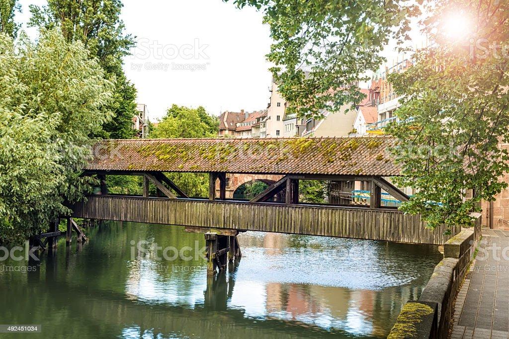 Henkersteg Nürnberg stock photo