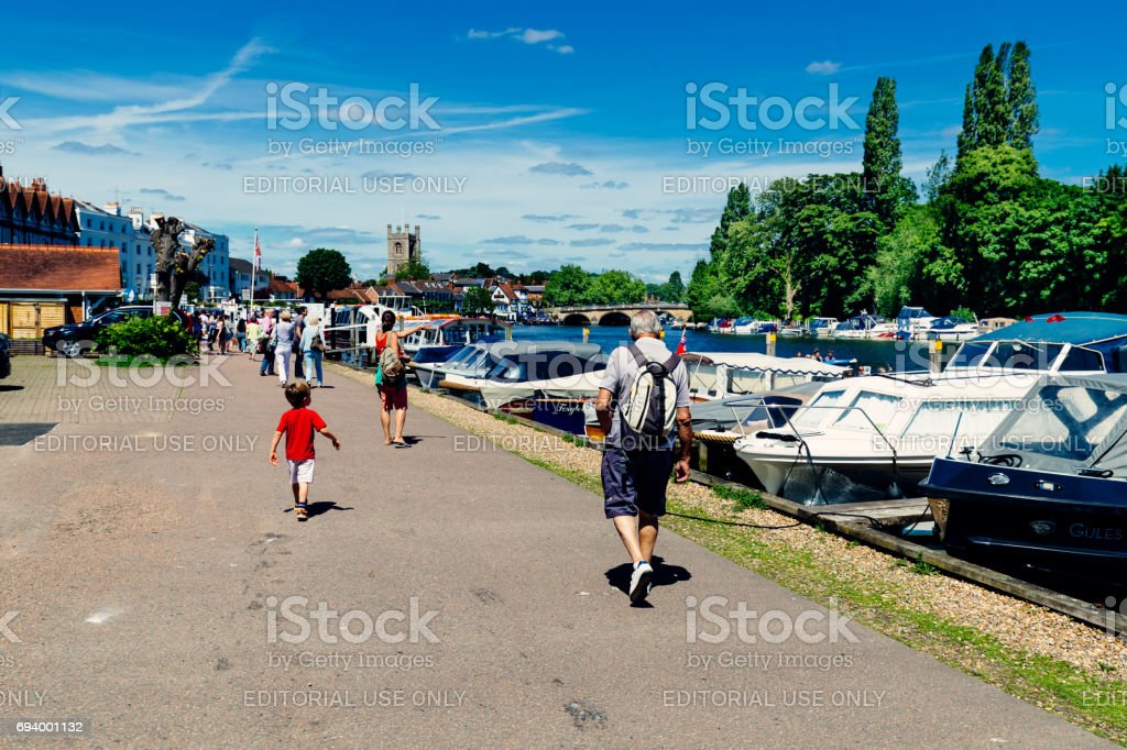 Henley-on-Thames, Oxfordshire, England stock photo