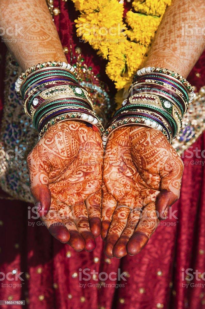 Henna - Mehndi stock photo