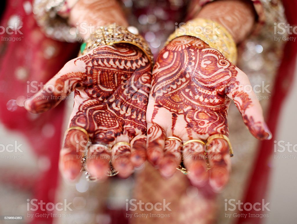 Henna stock photo
