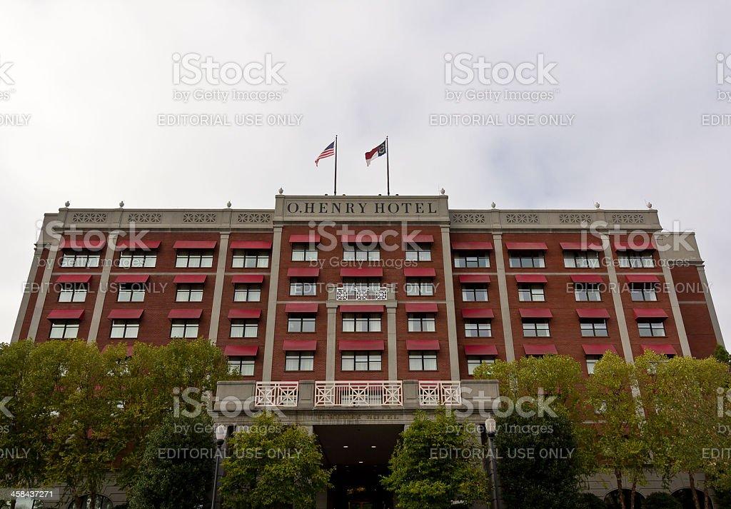 O. Henry Hotel royalty-free stock photo