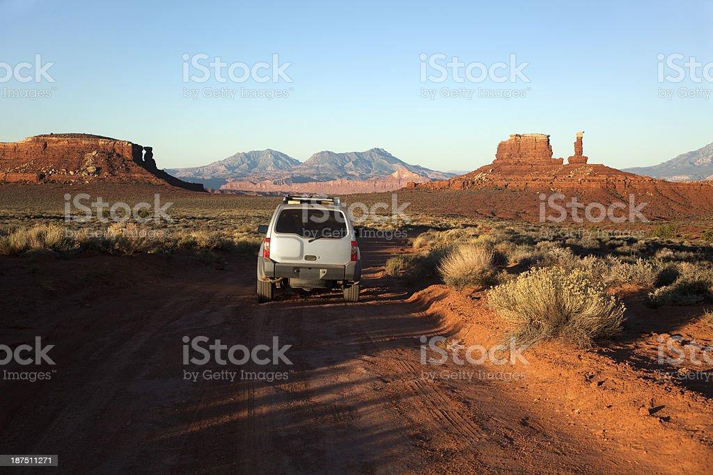 Henry Mountains Glen Canyon National Recreation Area Utah stock photo