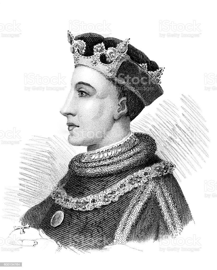 Henry V stock photo