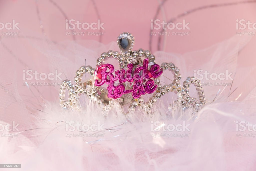Hen's Crown royalty-free stock photo