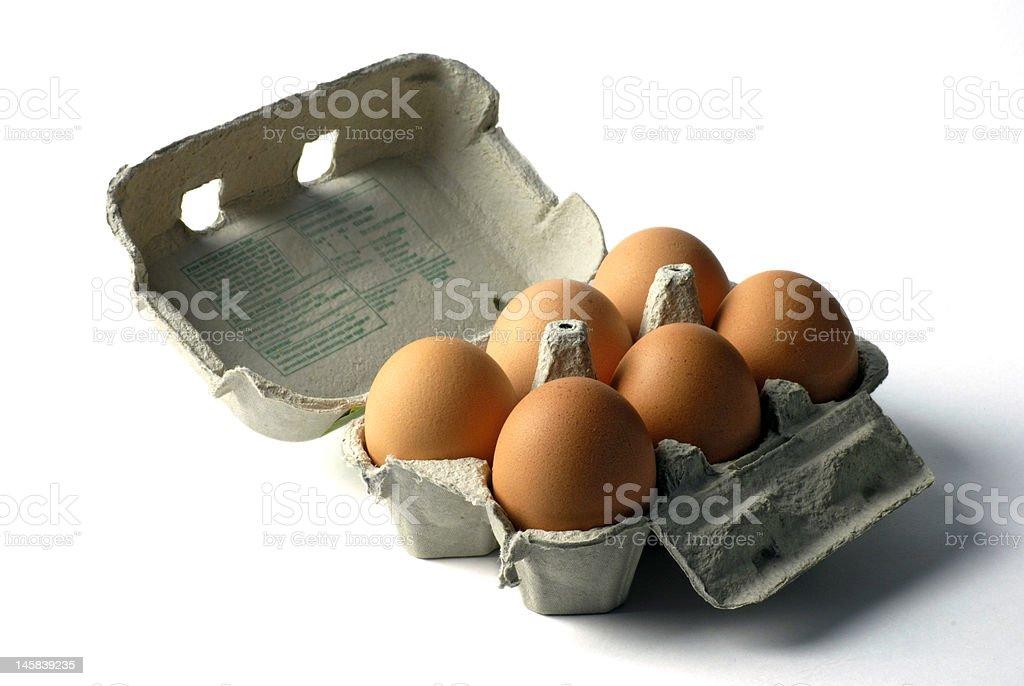 hen's eggs royalty-free stock photo