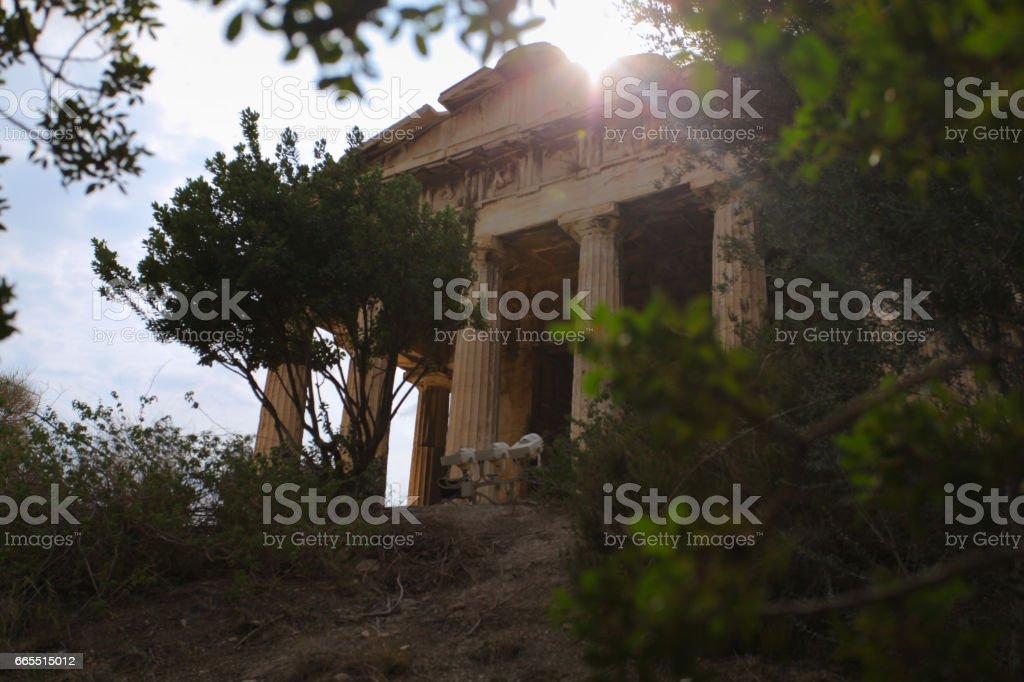 Hephaisteion stock photo