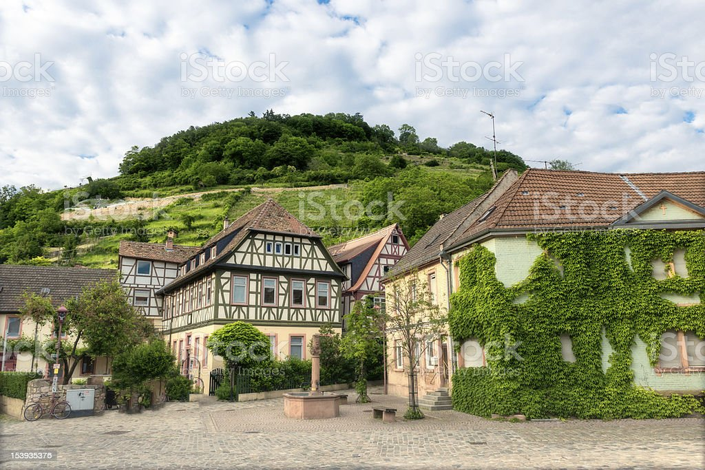 Heppenheim, Bergstrasse Germany stock photo