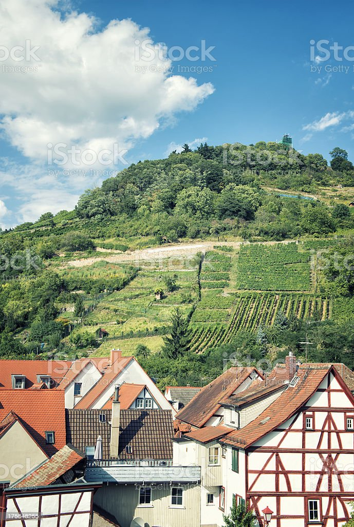 Heppenheim, Bergstrasse, Germany. stock photo