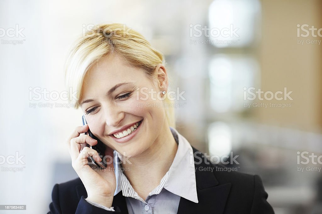 Her attitude is positively charming royalty-free stock photo