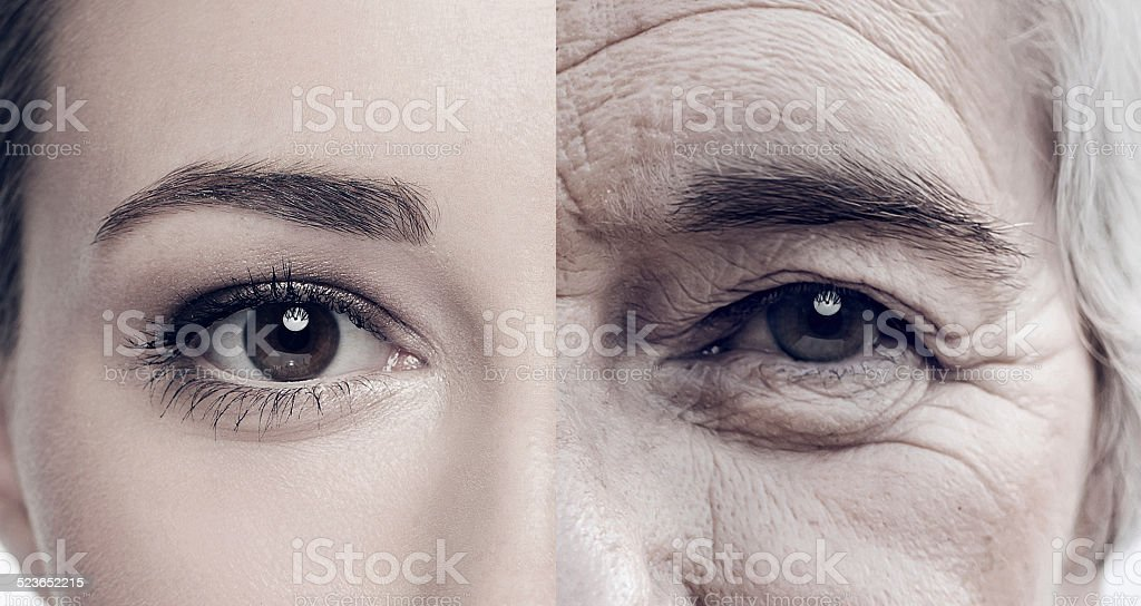 Her beautiful soul never goes out of style stock photo