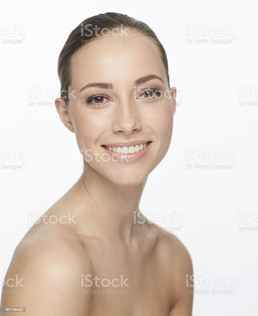 Her beauty is beyond words royalty-free stock photo