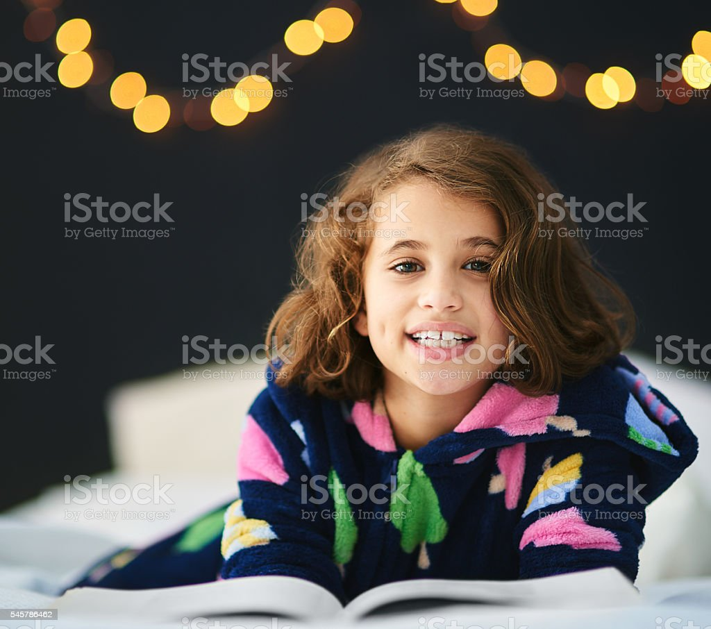 Her favourite fairytale stock photo
