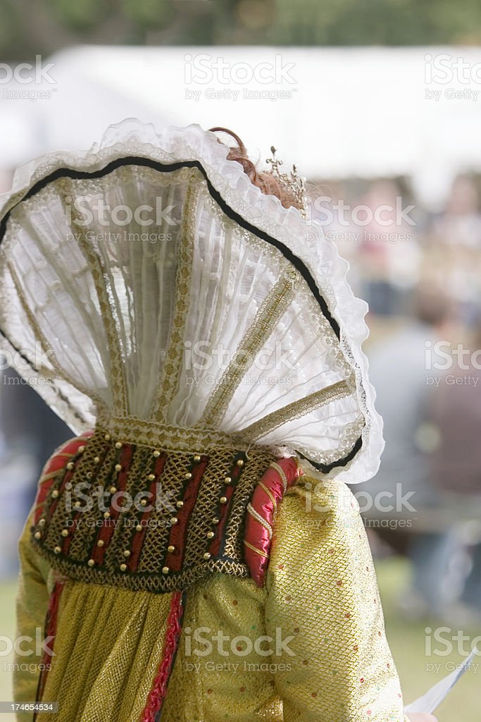 Her Majesty Queen Elizabeth I stock photo