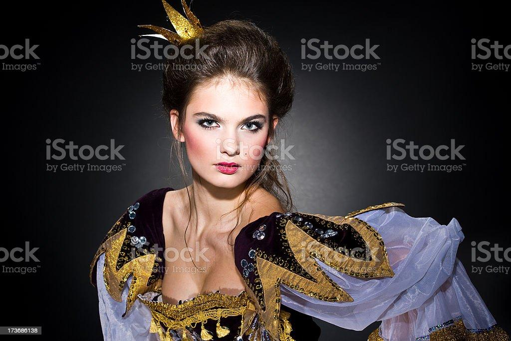 Her Royal Majesty royalty-free stock photo