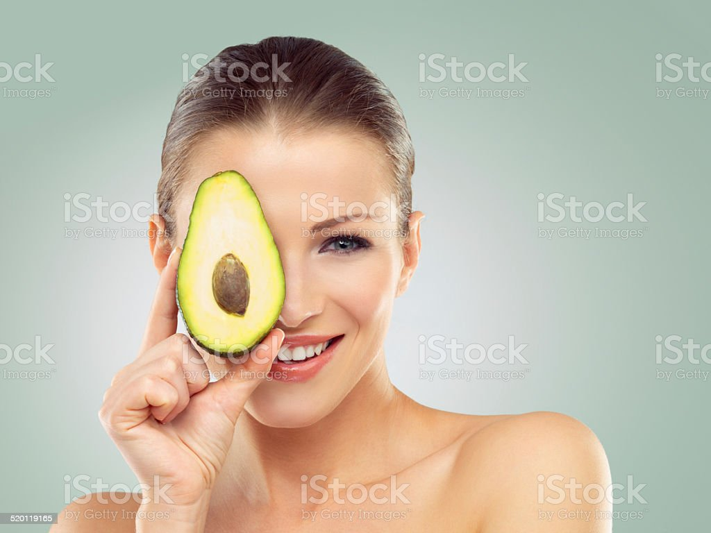 Her skincare favorite stock photo