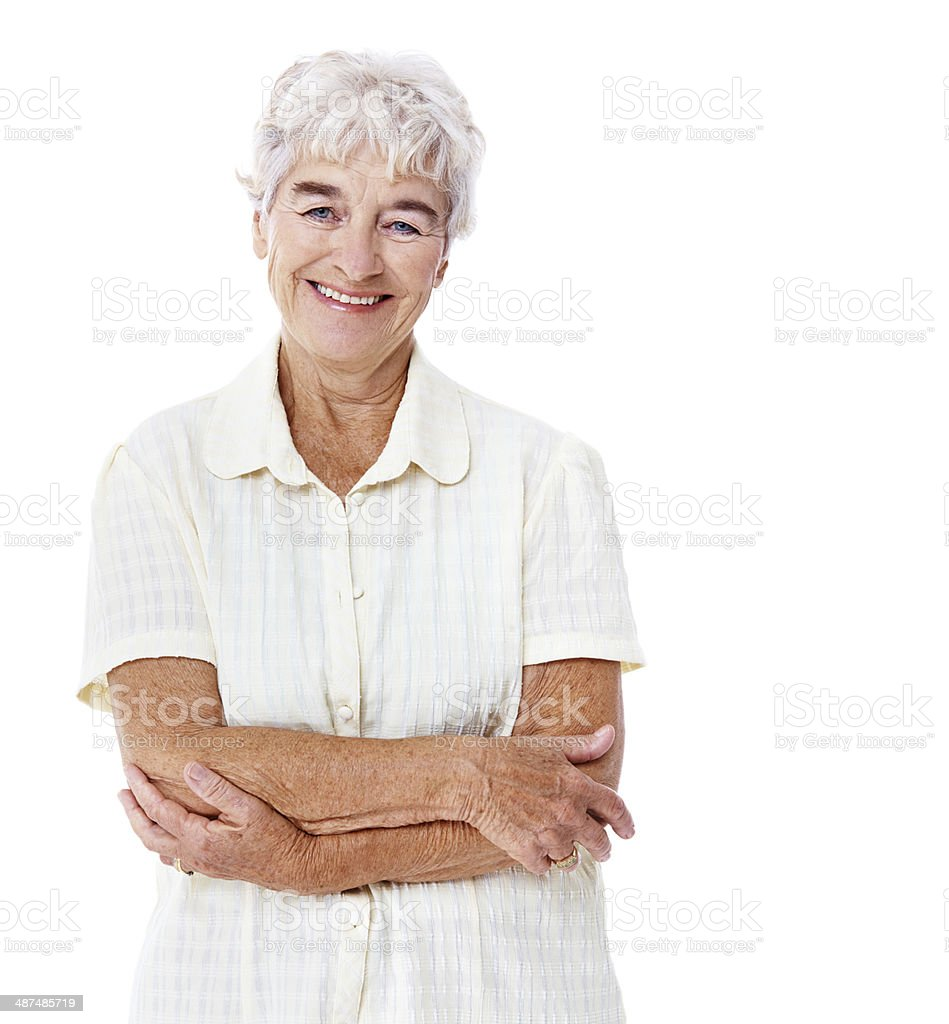 Her smile brightens everyone's day royalty-free stock photo