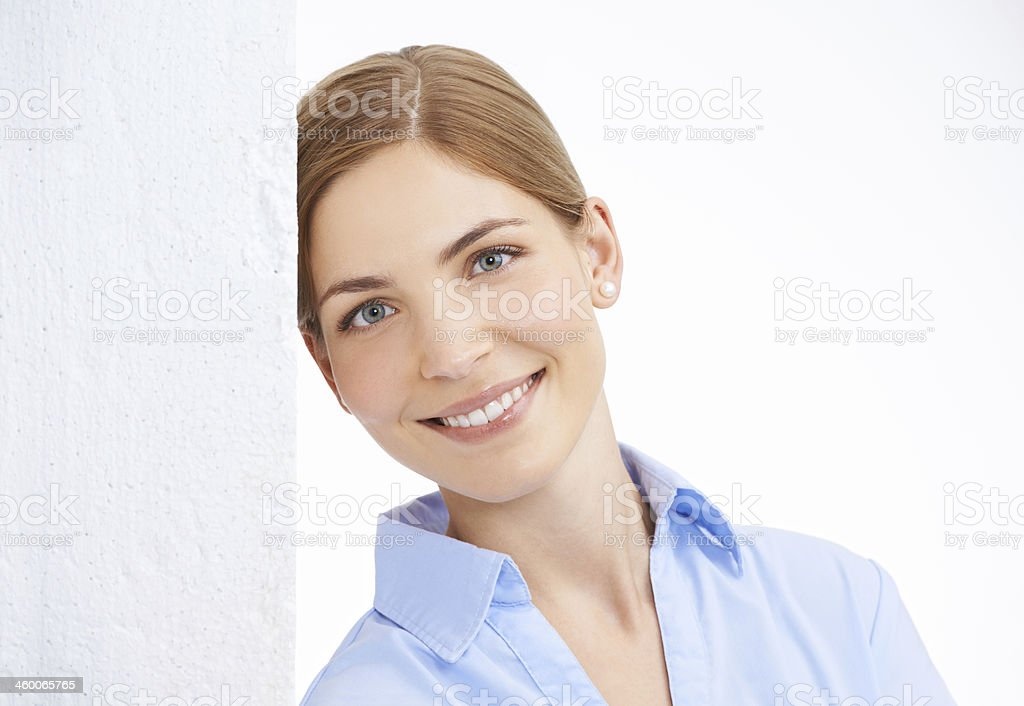 Her smile puts everyone at ease royalty-free stock photo