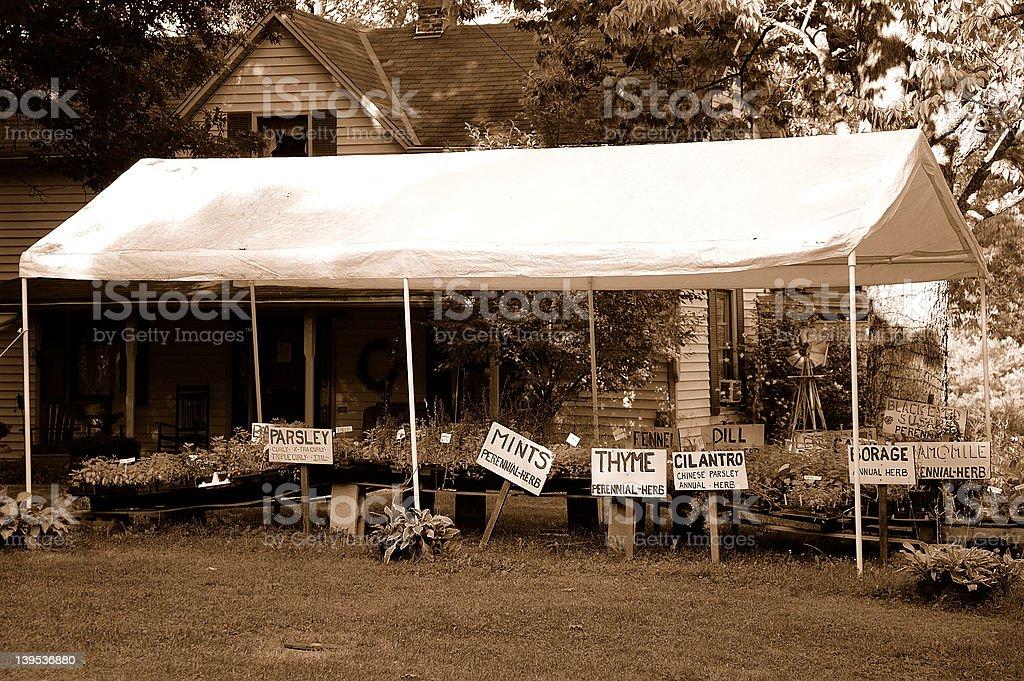 Herb Farm royalty-free stock photo