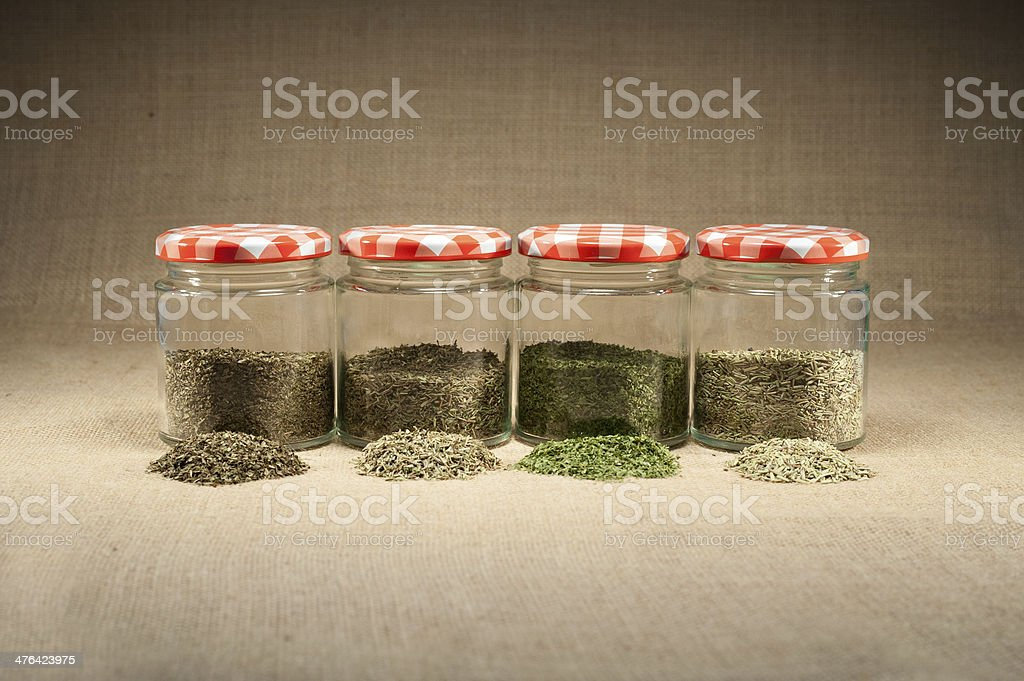 herb pot royalty-free stock photo