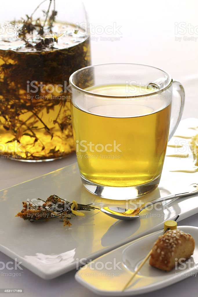 Herb Tea royalty-free stock photo
