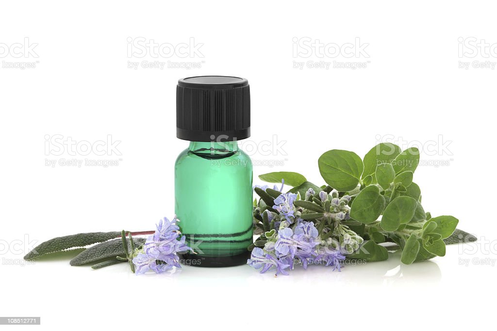 Herb Therapy stock photo
