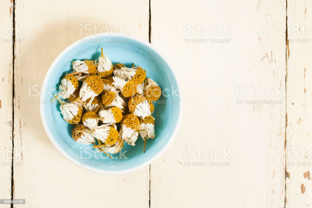 Herbal Chamomiles stock photo