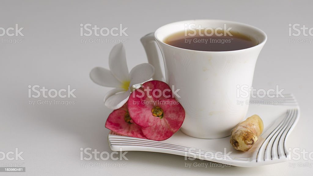 Herbal Ginger Tea royalty-free stock photo