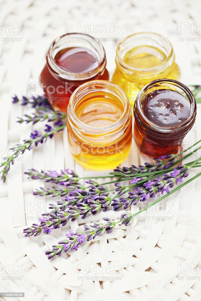 herbal honey royalty-free stock photo