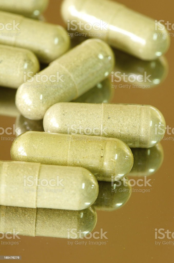 Herbal medicine product. royalty-free stock photo