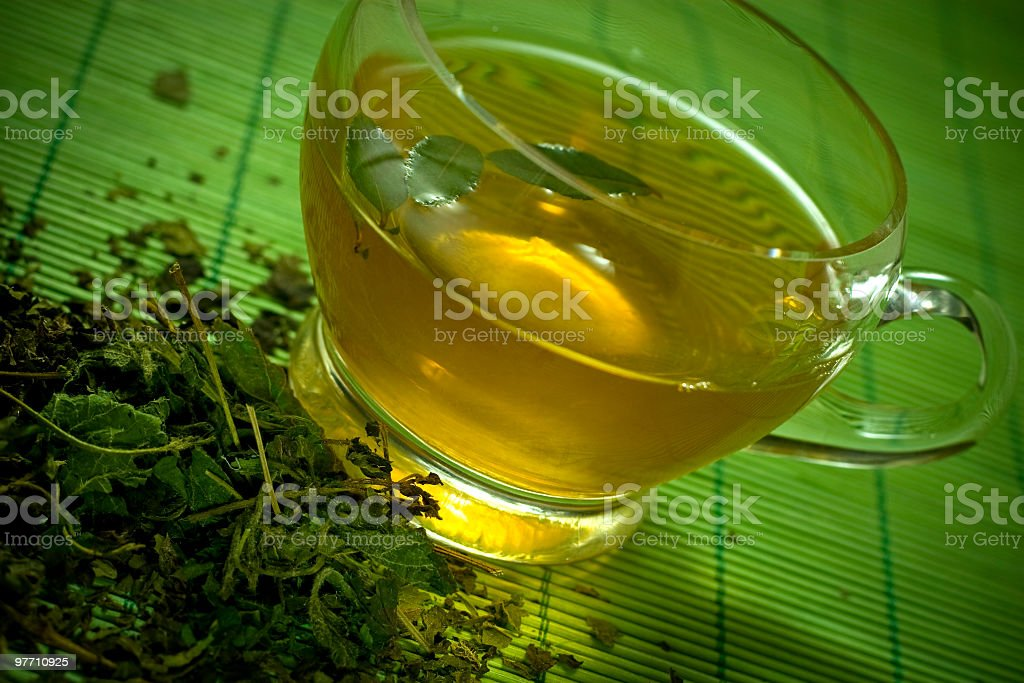 Herbal medicine-tea royalty-free stock photo