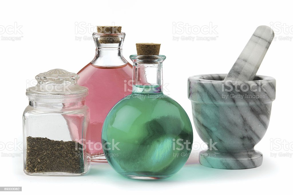 herbal remedy royalty-free stock photo