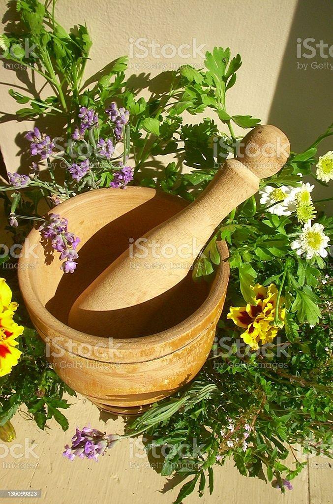 Herbal Scene royalty-free stock photo