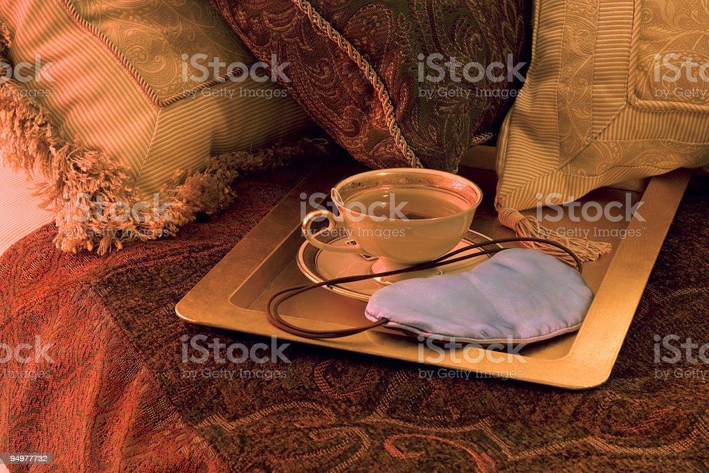 Herbal Tea at Bedtime royalty-free stock photo