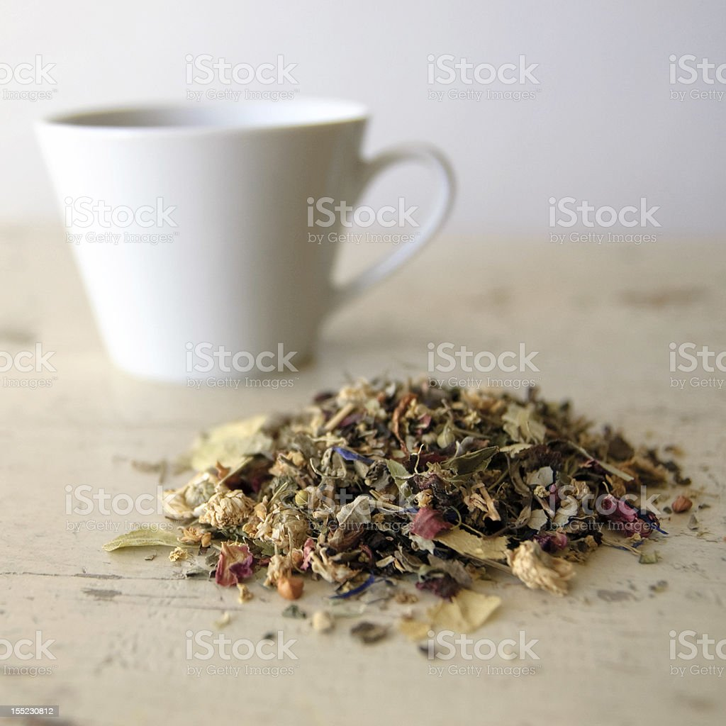 herbal tea blend royalty-free stock photo