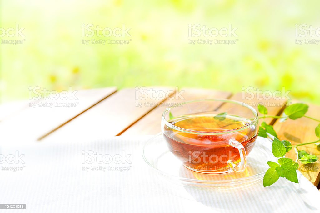 Herbal tea royalty-free stock photo