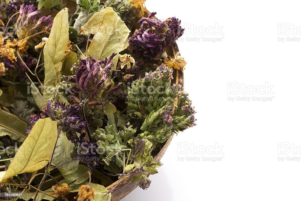 Herbal tea. royalty-free stock photo