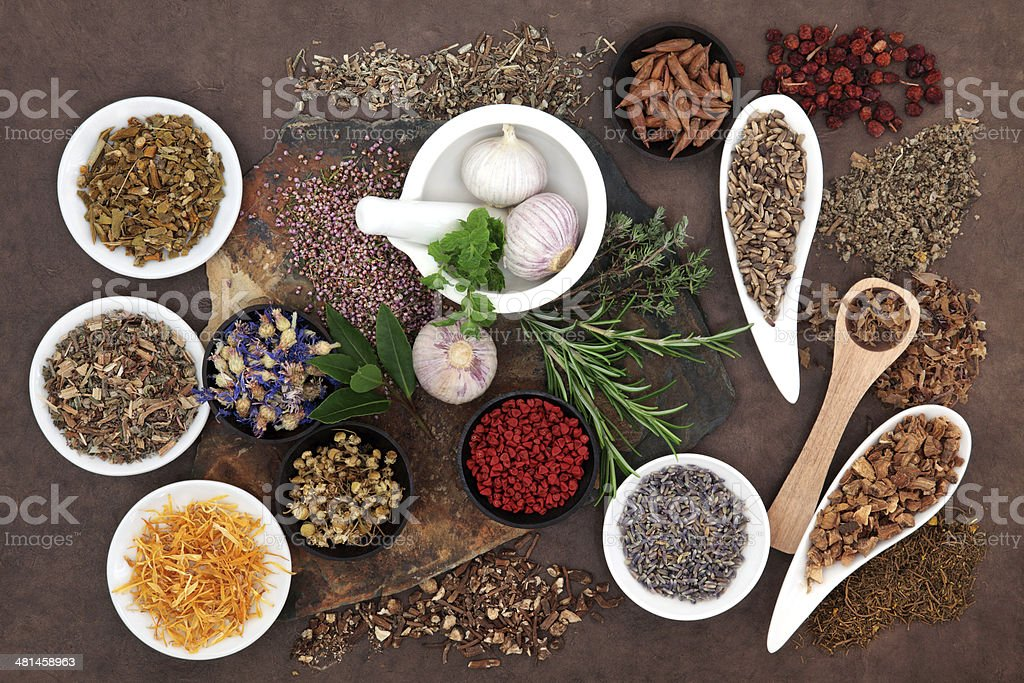 Herbal Wellness stock photo