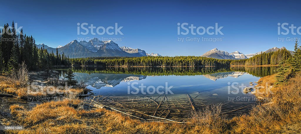 Herbert Lake stock photo