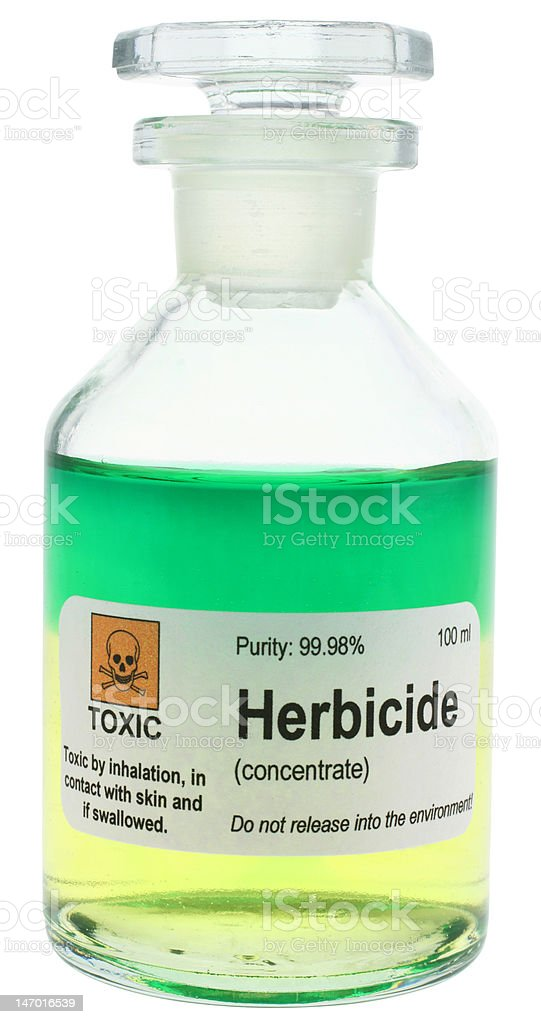 Herbicide royalty-free stock photo