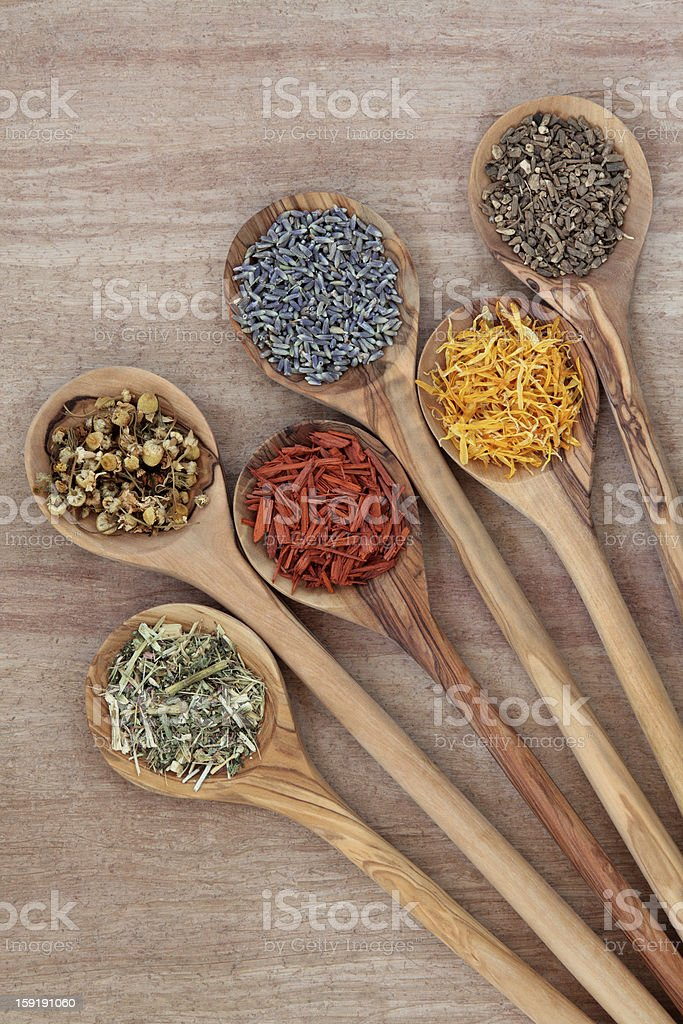 Herbs for Health royalty-free stock photo