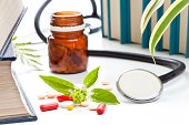Herbs in alternative medicine