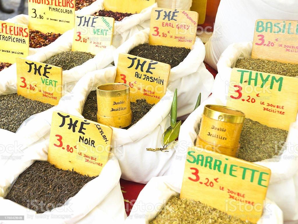 Herbs of provence stock photo