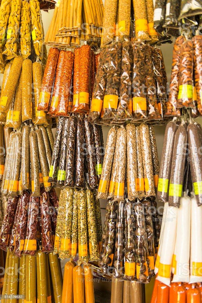 Herbs of Sri Lanka stock photo